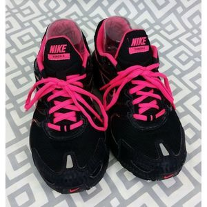 Nike Max Air Torch 4 Black Hot Pink Running Shoes